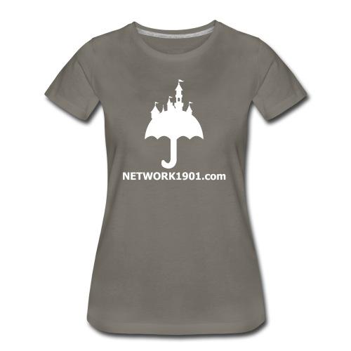 Women's Premium T-Shirt - umbrella,logo,disney,Network 1901