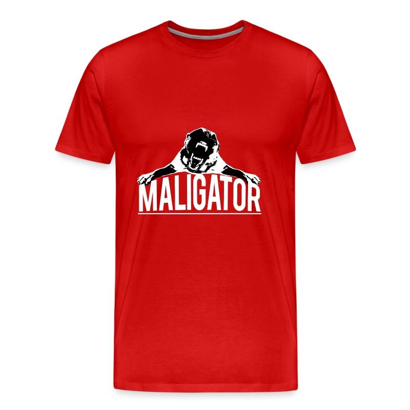 Belgian malinois maligator t shirt spreadshirt for Be creative or die shirt