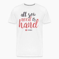 Vporn 'All you need is hand'
