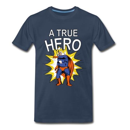 Chicken Warrior Men's Shirt - Men's Premium T-Shirt