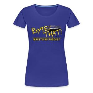 Byte That! Logo Women's Shirt - Women's Premium T-Shirt