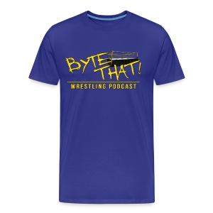 Byte That! Logo Men's Shirt - Men's Premium T-Shirt