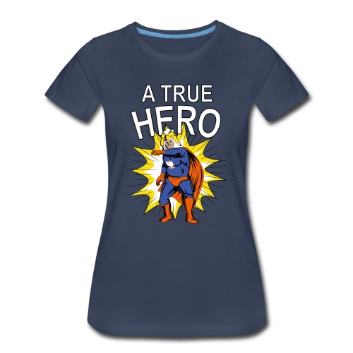 Chicken Warrior Women's Shirt - Women's Premium T-Shirt