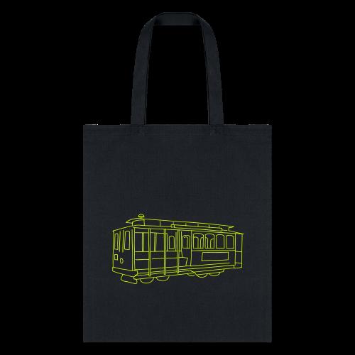 San Francisco Cable Car - Tote Bag