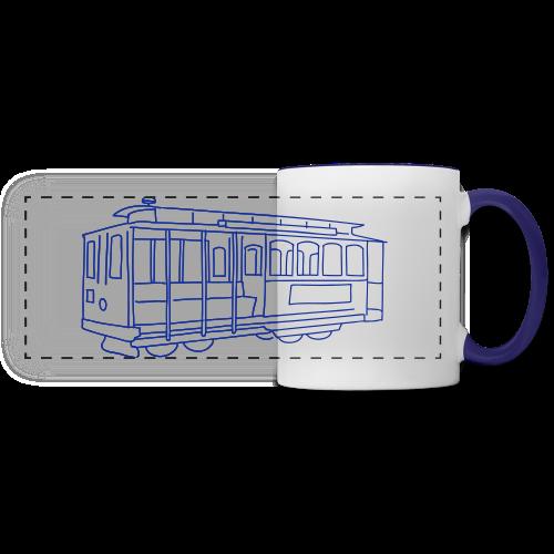 San Francisco Cable Car - Panoramic Mug