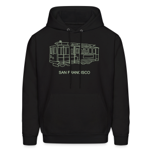 San Francisco Cable Car - Men's Hoodie
