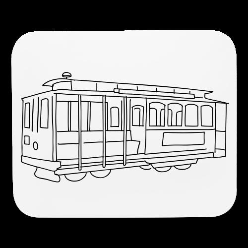 San Francisco Cable Car - Mouse pad Horizontal