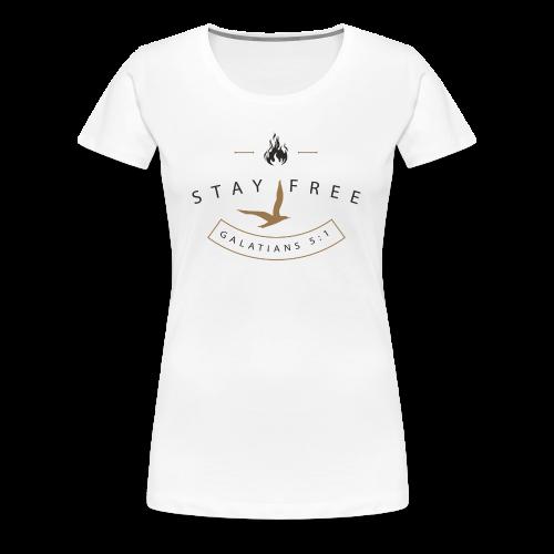 Fuel Flame Badge Women's T - Women's Premium T-Shirt