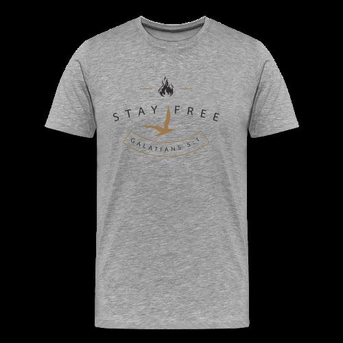 Fuel Flame Badge Men's T - Men's Premium T-Shirt