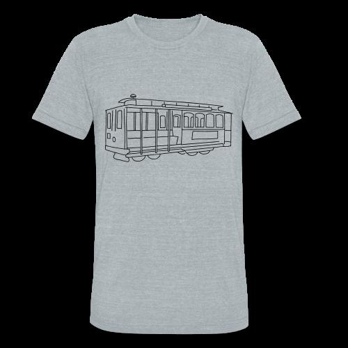 San Francisco Cable Car - Unisex Tri-Blend T-Shirt