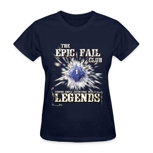 The Epic Fail Club - D10 - Women's T-Shirt