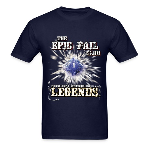 The Epic Fail Club - D10 - Men's T-Shirt