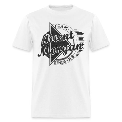 Brent Morgan T-Shirt (White)   - Men's T-Shirt