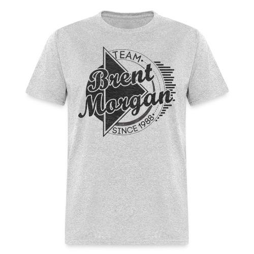 Brent Morgan T-Shirt (Grey)   - Men's T-Shirt