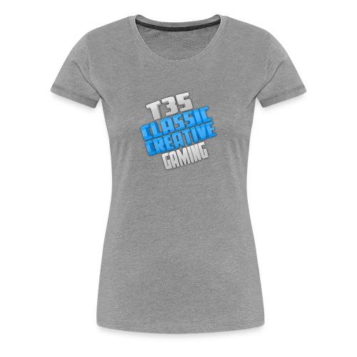 T35 Classic and Creative Gaming - Women's Premium T-Shirt