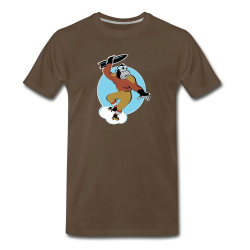 Gorilla Attack - Men's Premium T-Shirt