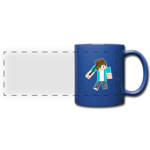 Mug with Minecraft Logo - Full Color Panoramic Mug