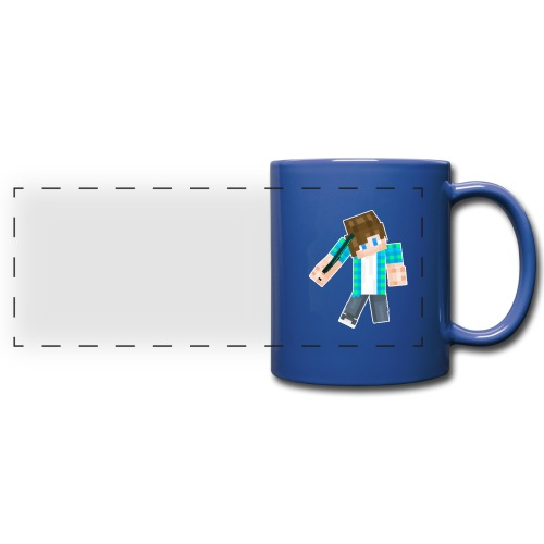 Mug with Minecraft Logo - Full Color Panoramic Mug
