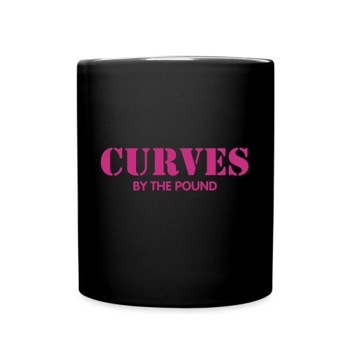 Black Mug Curves By The Pound - Full Color Mug