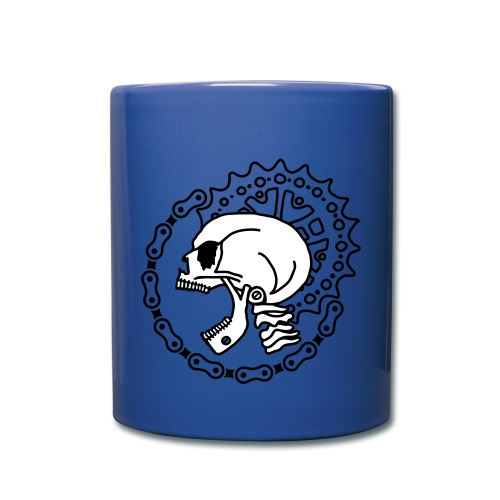 Skull Chain Punk 3c - Full Color Mug