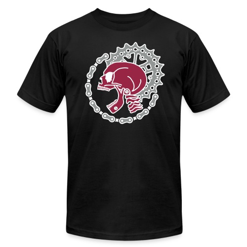 Skull Chain Punk 3c - Men's Fine Jersey T-Shirt