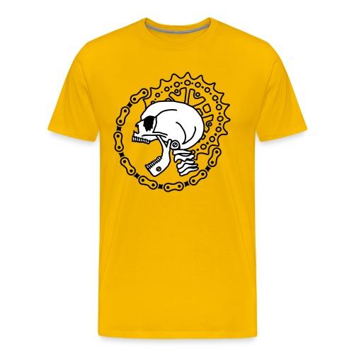 Skull Chain Punk 2c - Men's Premium T-Shirt