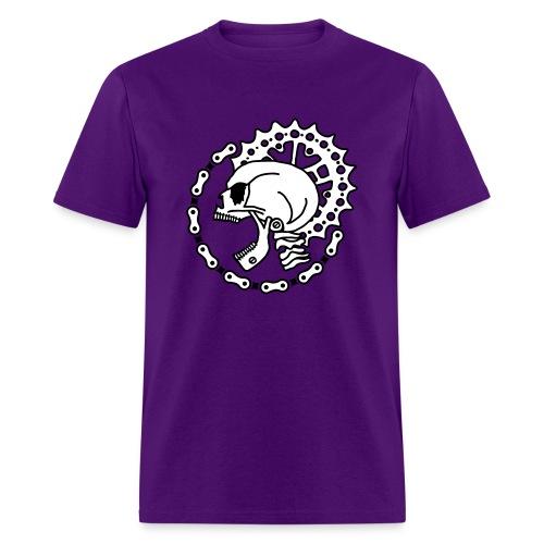 Skull Chain Punk 2c - Men's T-Shirt