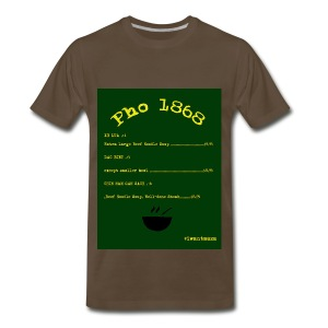 Pho 1868 - Men's Premium T-Shirt