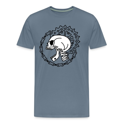 Skull Chain Punk 3c - Men's Premium T-Shirt