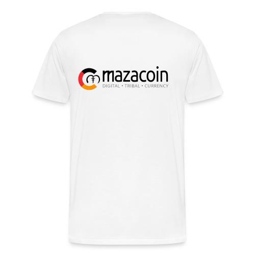Mazacoin M Logo - Men's Premium T-Shirt