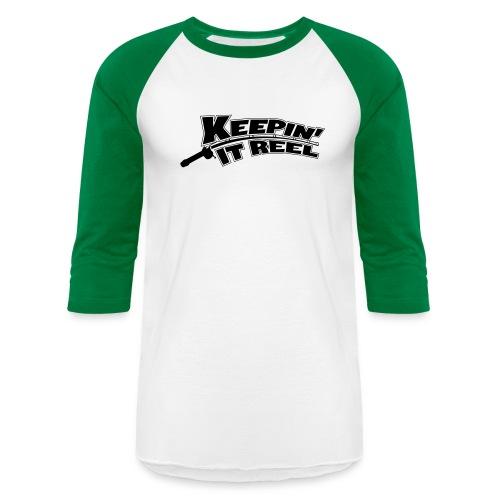 Baseball T-Shirt - Keepin It Reel,Fishing Shirt,Fishing Gear