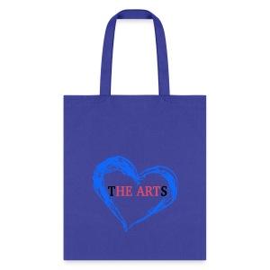 I Heart The Arts Blue Tote - Tote Bag