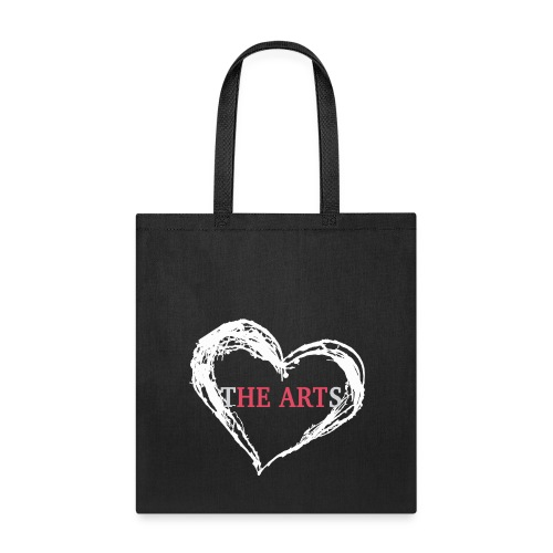 I Heart The Arts Black Tote - Tote Bag