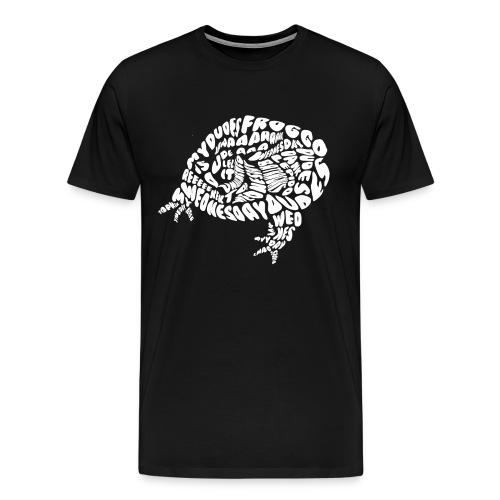 Froggo Style White Men - Men's Premium T-Shirt