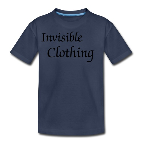 Invisible Clothing Kids Tee - Kids' Premium T-Shirt