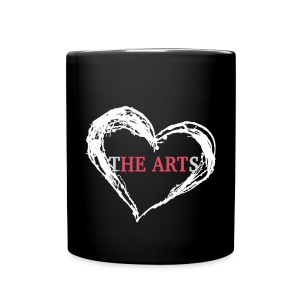 I Heart The Arts Black Coffee Mug - Full Color Mug