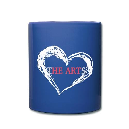 I Heart The Arts Blue Coffee Mug - Full Color Mug