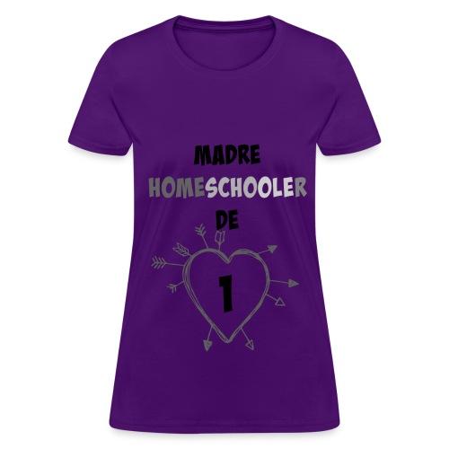 Madre de 1 - Women's T-Shirt