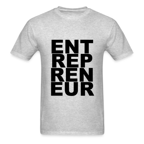Entrepreneur-Black - Men's T-Shirt