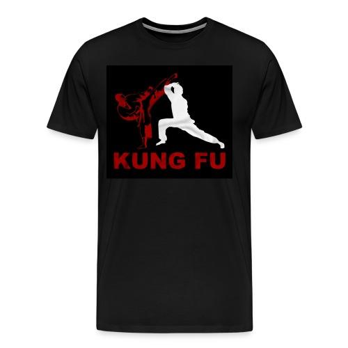 Kung FU Men's Premium T-Shirt - Men's Premium T-Shirt