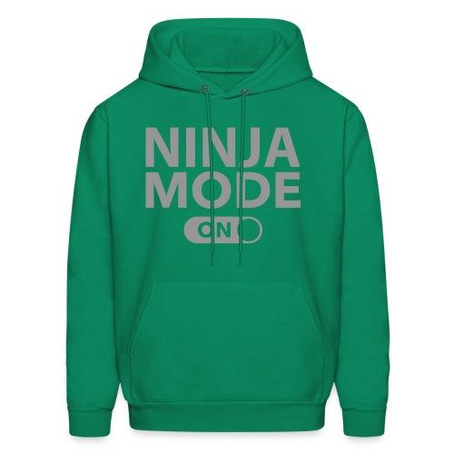 Men's NINJA MODE hoodie - Men's Hoodie