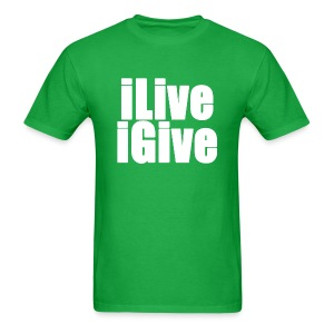 iLive and iGive - Men's T-Shirt