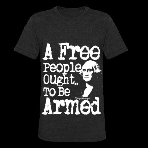 A Free People Shirt - Unisex Tri-Blend T-Shirt
