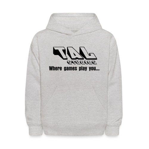 WHERE GAMES PLAY YOU - Kids' Hoodie