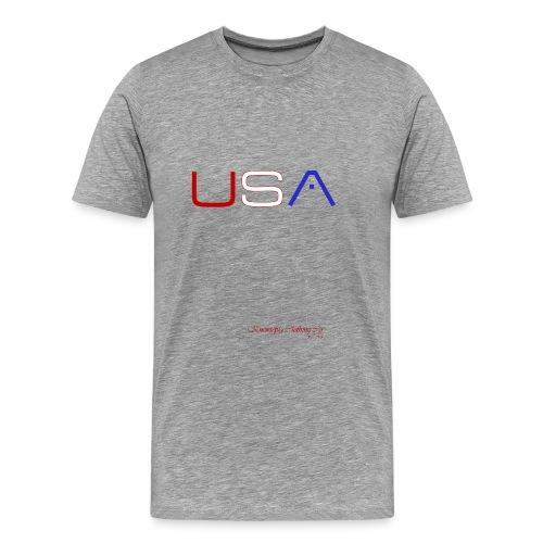 GENTLEMEN'S KNEW U.S.A. - Men's Premium T-Shirt