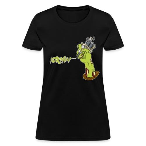 Zombie Tattoo! (Womens) - Women's T-Shirt