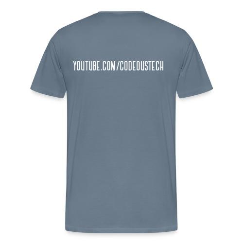 c0deous Logo (No Link) - Men's T-Shirt - Men's Premium T-Shirt