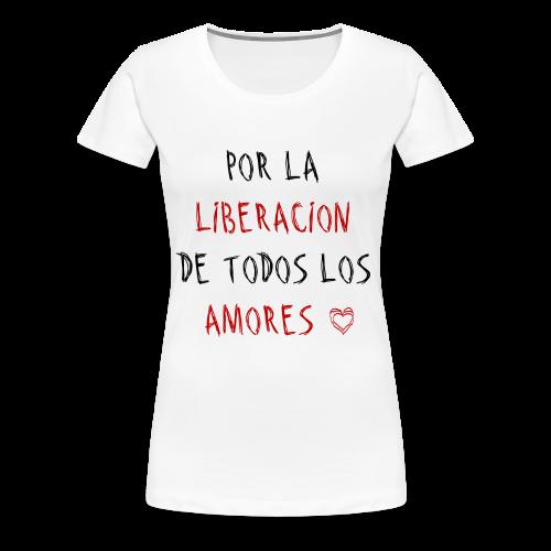 FREE LOVE. - Women's Premium T-Shirt