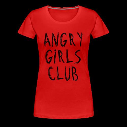 ANGER - Women's Premium T-Shirt