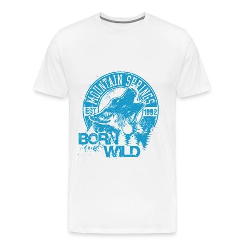 Born Wild - Men's Premium T-Shirt